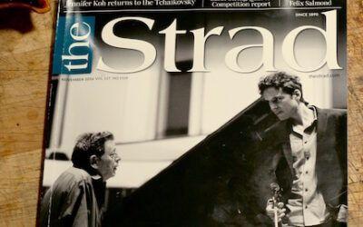 Strad Magazine article – Oberlin 2016.